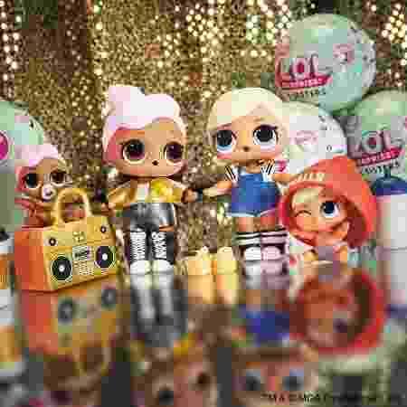 As LOL dolls foram lançadas em dezembro de 2016 e as vendas aumentaram em mais de 500% desde então - Divulgação - Divulgação