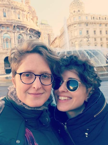 Carol Duarte e sua namorada Aline Klein - Reprodução/ Instagram