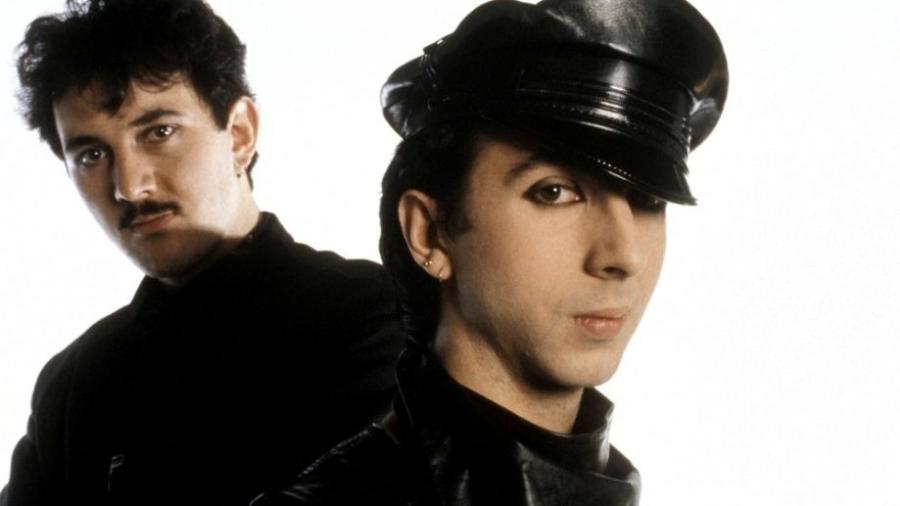 O duo de synthpop Soft Cell - Reprodução