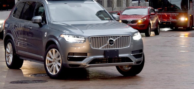 Atropelamento fez Uber suspender testes com carros autônomos - Divulgação