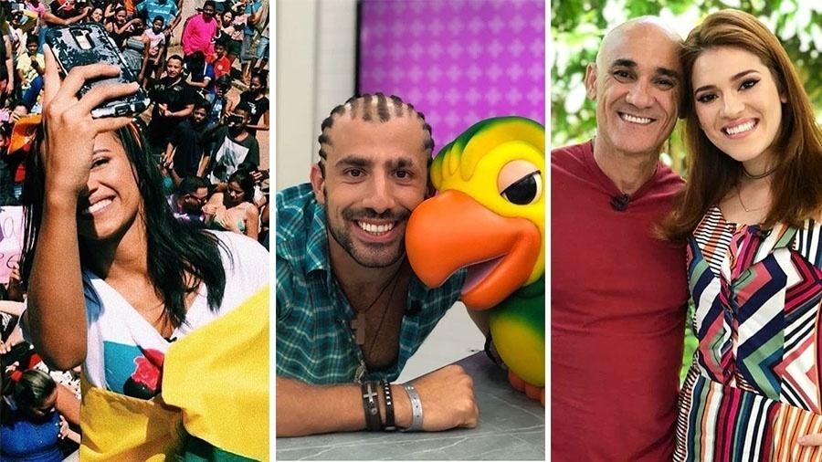 Os finalistas Gleici, Kaysar, Ayrton e Ana Clara - Reprodução/Instagram