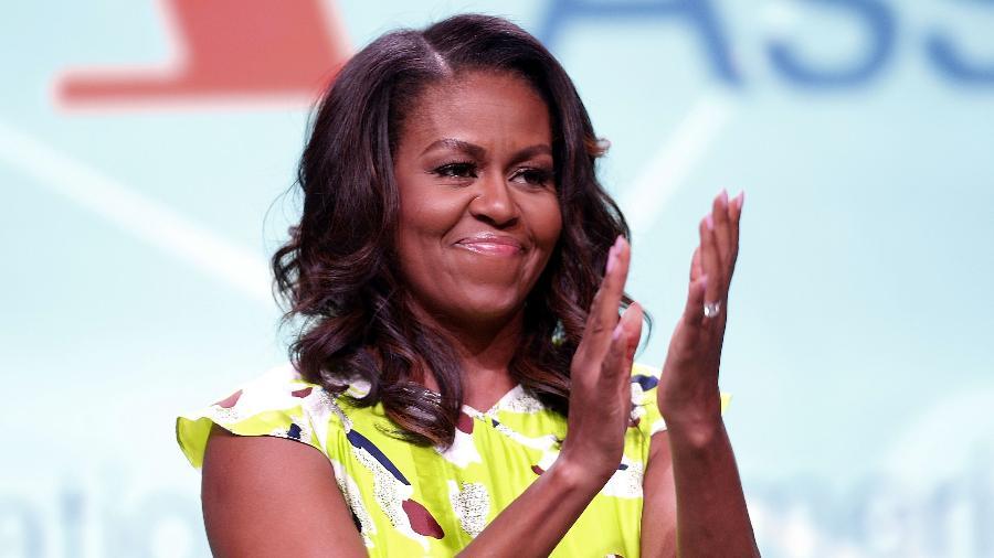 Michelle Obama completa 57 anos; a ex-primeira-dama é casada com Barack há 28 e é mãe de duas jovens - Getty Images