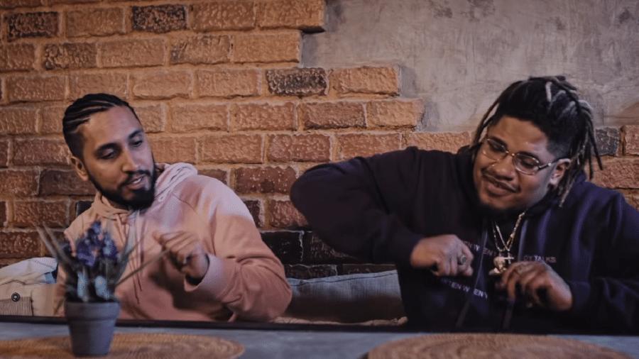 """Rashid e Luccas Carlos no clipe """"Bilhete 2.0"""" - Reprodução"""