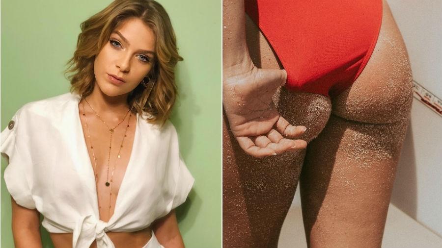 Isabella Santoni dá close no bumbum - Reprodução/Instagram