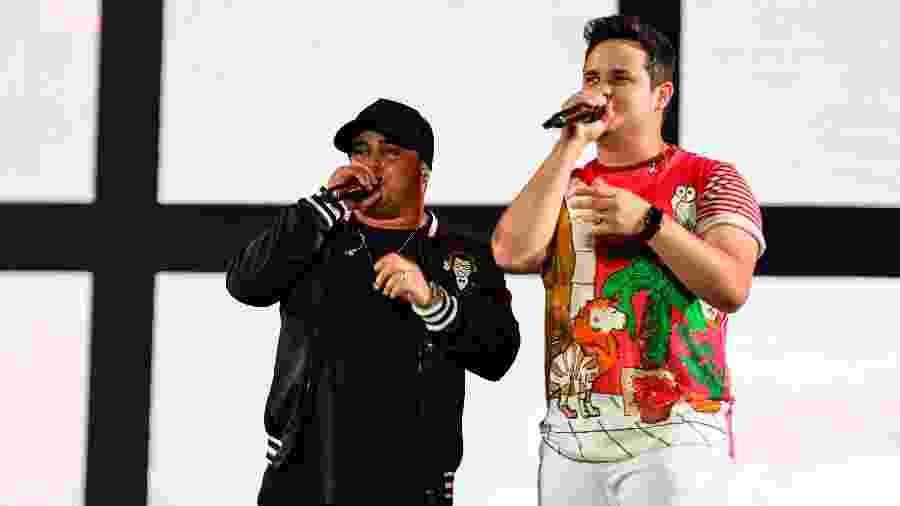 Matheus & Kauan se apresentam no Festival Virada Salvador - João Alvarez/UOL