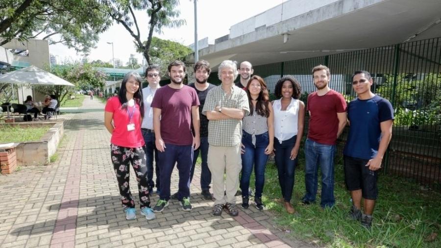 No Brasil, pesquisa foi conduzida por cientistas da USP e do A.C. Camargo Cancer Center; na imagem, grupo orientado pelo professor João Carlos Setubal - Marcos Santos/USP