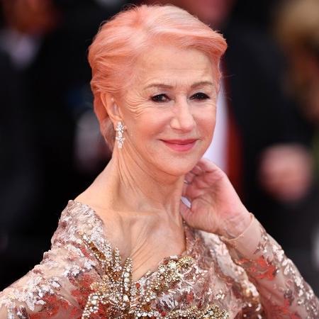 Helen Mirren tem preguiça de ir ao cabeleireiro mensalmente - Getty Images