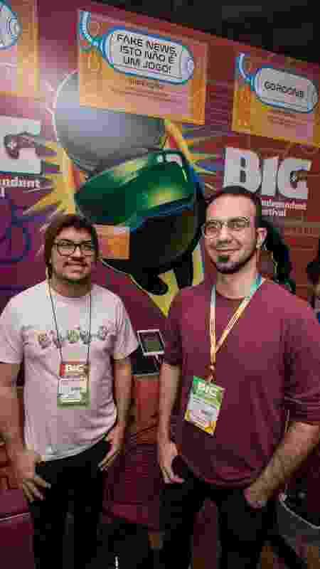 Adler Castro (direita) e Marcelo Gomes, do Patada! Studios - André Lucas/UOL