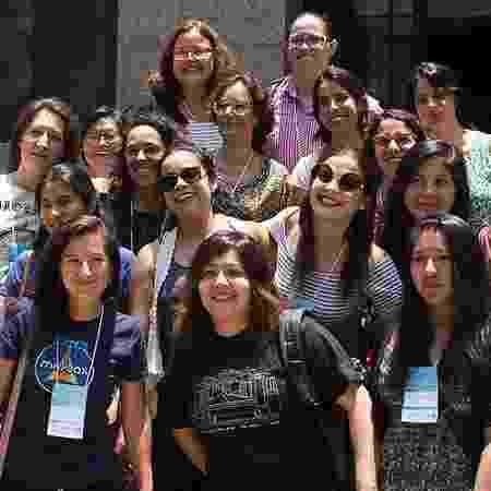 As cartógrafas da Geochicas, que compilam dados de violência contra mulheres e querem ampliar a representatividade feminina na área - Divulgação