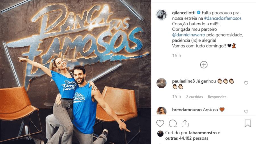 """Giovanna Lancellotti está em contagem regressiva para o início da """"Dança dos Famosos"""" - Reprodução/Instagram"""