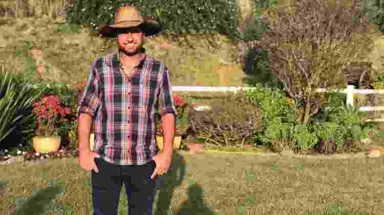 Diogo Barbieri, caseiro de A Fazenda - Felipe Pinheiro/UOL