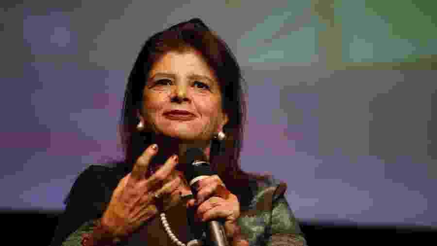 Luiza Helena Trajano, dona da Magalu; empresa abriu programa de trainees apenas para candidatos negros - Folhapress