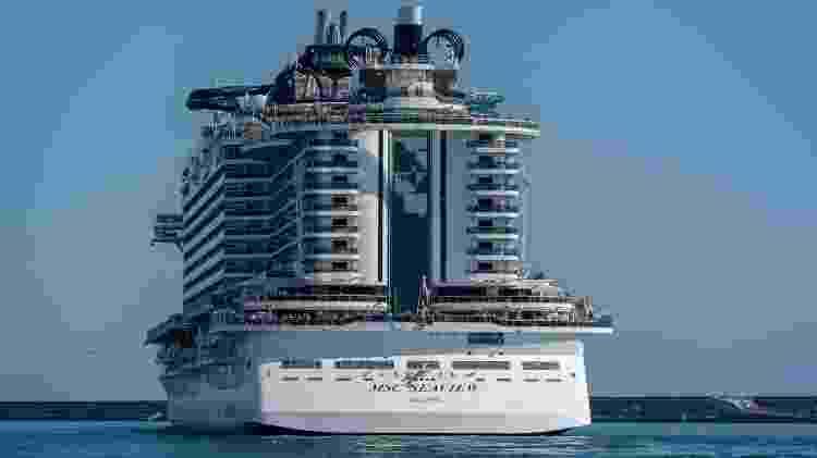 MSC Seaview navega pelo Brasil até março de 2020 - iStock