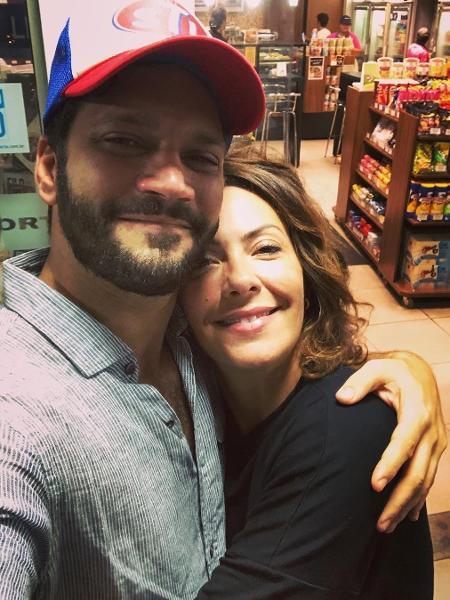 Armando Babaioff e Fabiula Nascimento - REPRODUÇÃO/INSTAGRAM