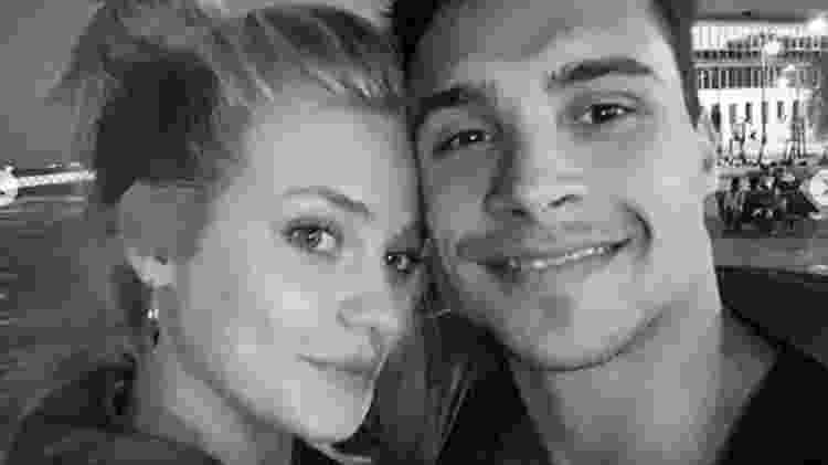 Petrix e a namorada, Joline Heitmann - Reprodução/Instagram