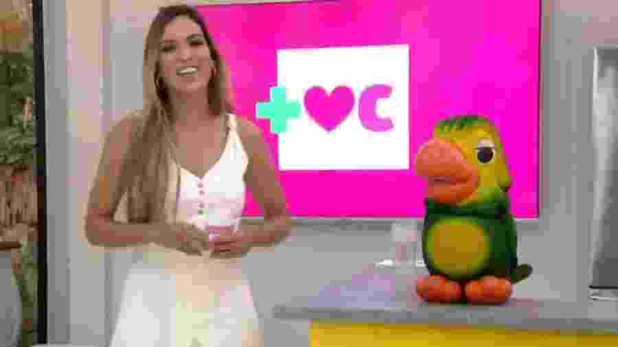 Edição de hoje do Mais Você ficou sob comando de Talitha Morete - Reprodução/TV Globo