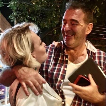 Ana Maria Braga e o marido, Johnny Lucet - Reprodução/Instagram