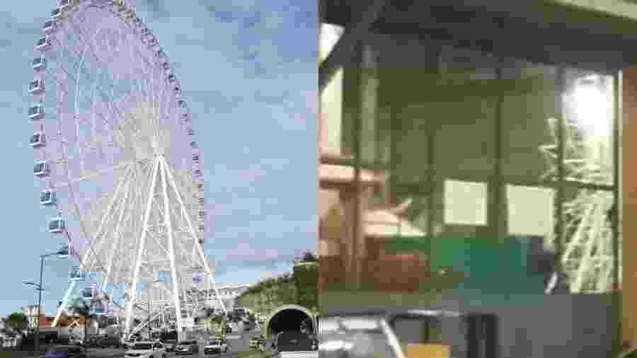 Roda gigante estará em desfile de Paulo Barros - Reprodução