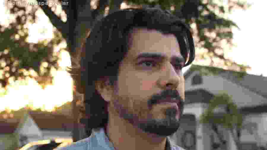 Anthony Junior diz que pode ser filho de Francisco Cuoco - Reprodução/Record TV
