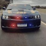 Chevrolet Camaro PRF RS apreendido traficante - Reprodução