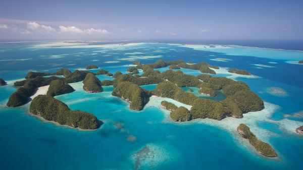 A reserva natural de Seventy Islands, em Palau - Getty Images/iStockphoto - Getty Images/iStockphoto