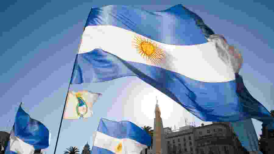 bandeira argentina - Getty Images