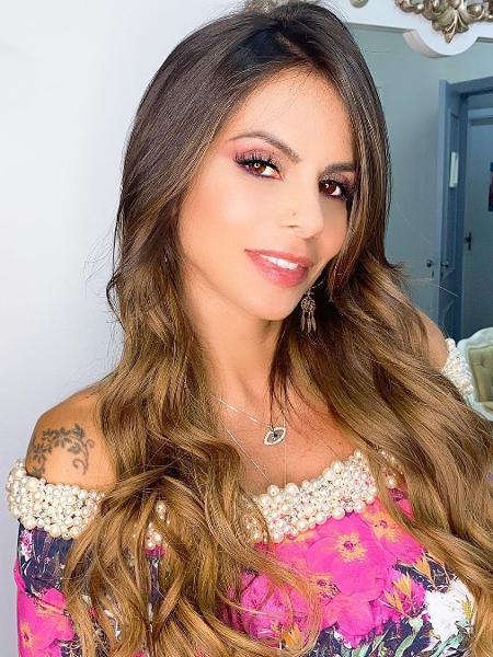 Clara Maria, namorada de Marlon - Reprodução/Instagram @clara_maria