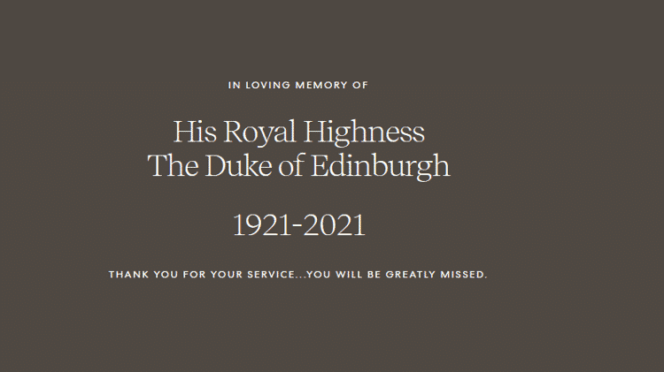 Príncipe Harry e Meghan Markle reagem à morte de Príncipe Phillip - Reprodução/ Archewell.com - Reprodução/ Archewell.com