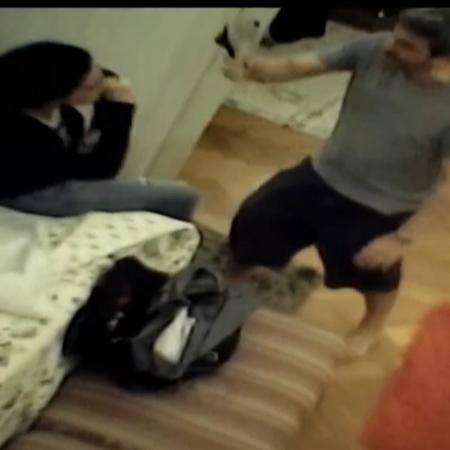 A atriz Cristiane Machado usou câmera escondida para gravar agressões do ex; Senado derrubou veto que exigia autorização policial para gravação - Reprodução