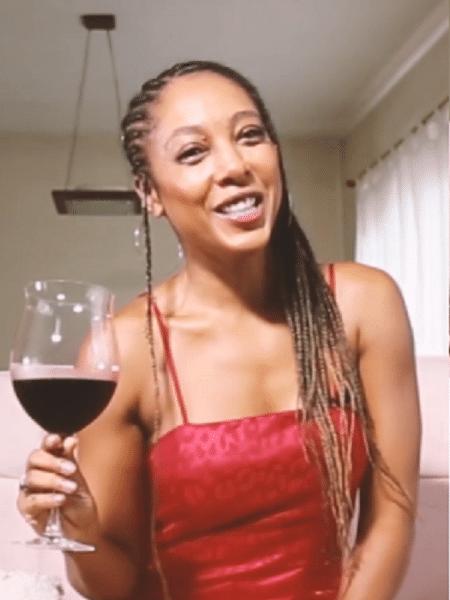 A cantora Negra Li - Reprodução