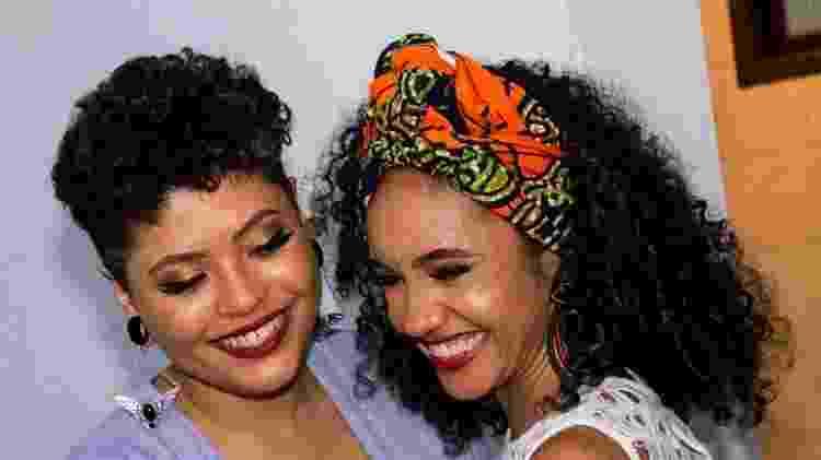 A publicitária Angel Pinheiro e a jornalista Beatriz Sanz se casaram em 2018, assim que Bolsonaro venceu - Arquivo pessoal - Arquivo pessoal