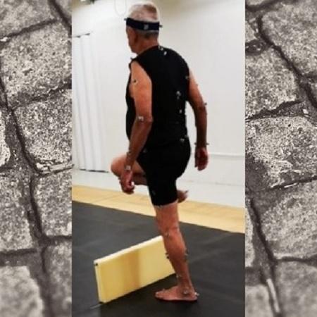 Cientistas detectaram incapacidades relacionadas à manutenção do ritmo da caminhada e ao posicionamento do pé; descobertas permitem desenvolver um protocolo de exercícios para amenizar o problema - Acervo dos pesquisadores