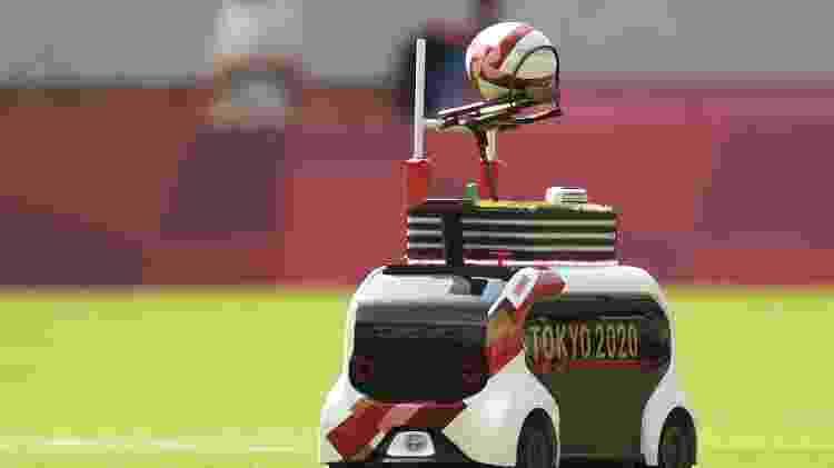 Miniatura de Toyota e-Palette nas Olimpíadas de Tóquio - Divulgação - Divulgação