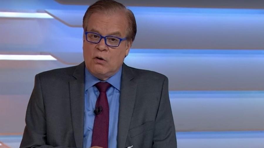 """Chico Pinheiro no """"Bom Dia Brasil""""; jornalista comemorou centenário de Paulo Freire - Reprodução/TV Globo"""