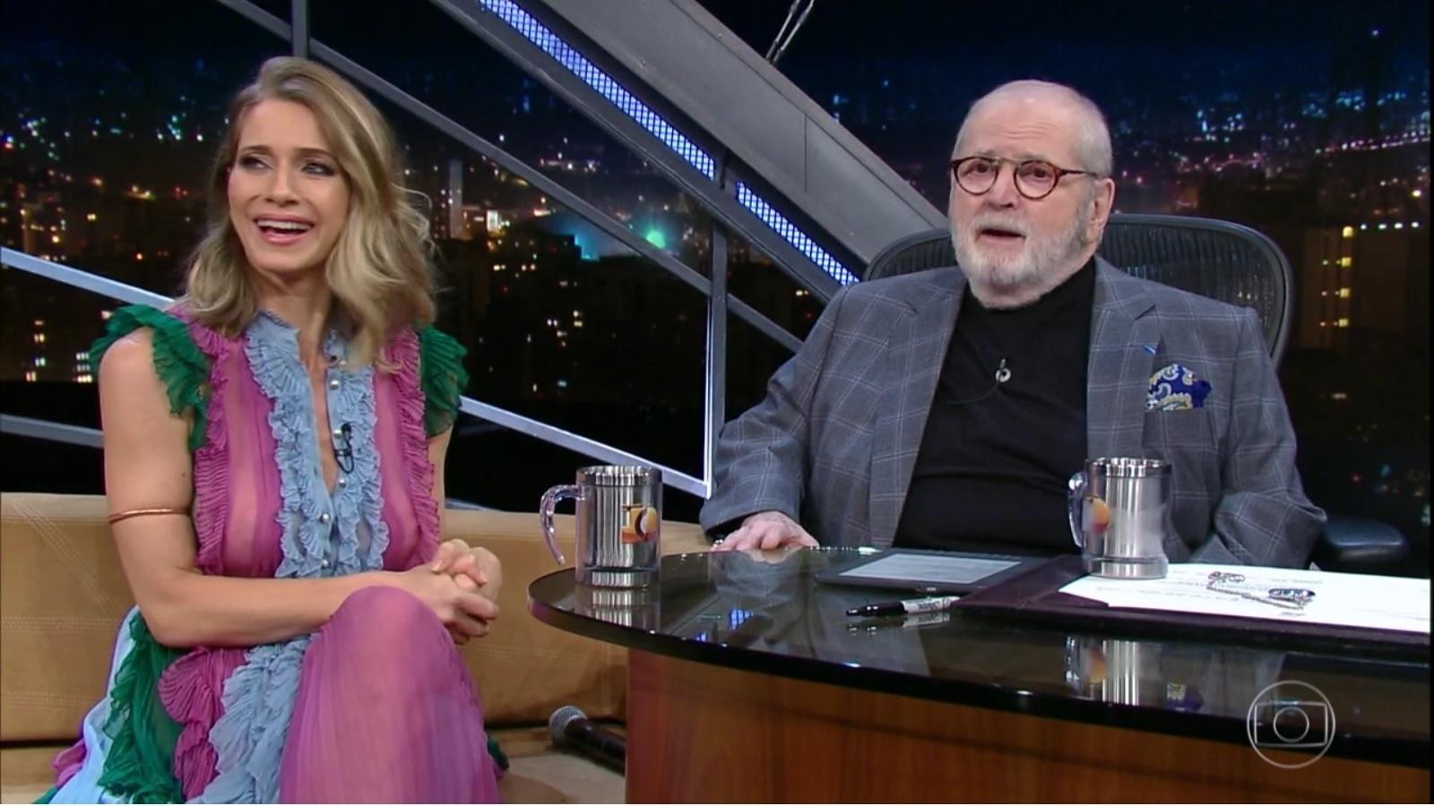 21.abr.2016 - Letícia Spiller relembra início da carreira como paquita