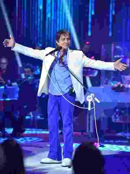 Roberto Carlos canta em especial de fim de ano da Globo - Mauricio Fidalgo/Divulgação/TV Globo