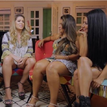 Tania Mara relembra amizade com Simone e Simaria em entrevista a Antonia Fontenelle - Reprodução