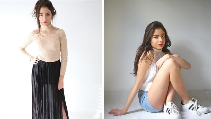 Guilia, filha de Gretchen, sonha com a carreira de modelo - Reprodução/Instagram