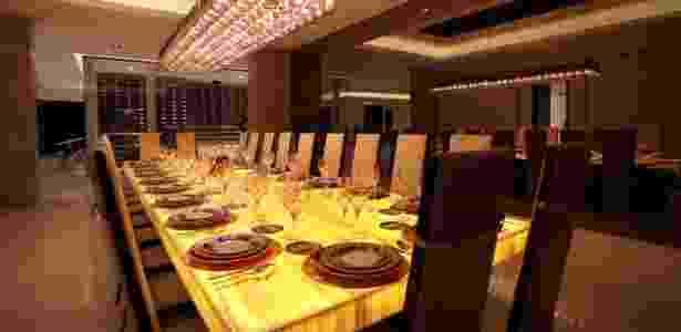 Mansão de Notch - sala de jantar - Reprodução - Reprodução