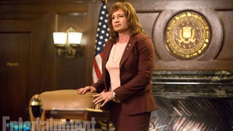 """David Duchovny como Denise na nova temporada de """"Twin Peaks"""" - Patrick Wymore/SHOWTIME e Reprodução/Entertainment Weekly"""