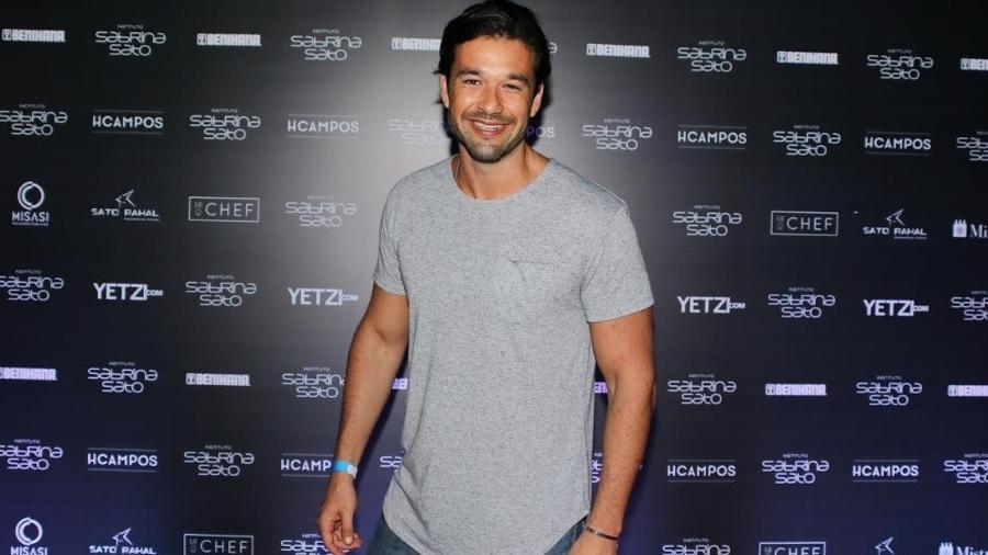 O ator e apresentador Sergio Marone  - Thiago Duran/AGNews