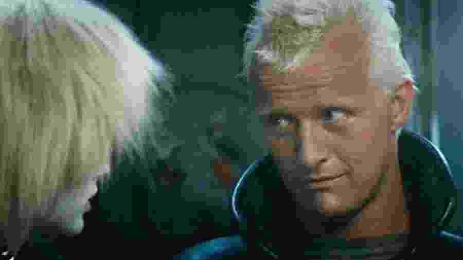 Rutger Hauer em cena de Blade Runner: O Caçador de Androides - Reprodução
