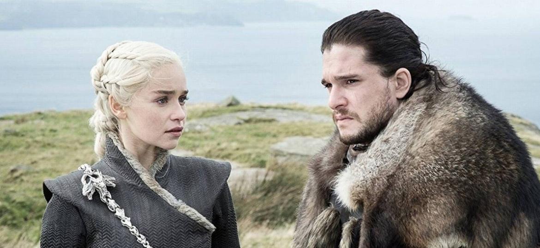 """Daenerys e Jon Snow em cena da sétima temporada de """"Game of Thrones"""" - Divulgação/HBO"""