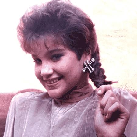 Flávia Alessandra relembra visual dos anos 80 - Reprodução/Instagram/flaviaalereal