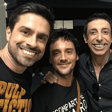 Luciano Amaral, Freddy Allan e Cássio Scapin - Reprodução/Instagram/lucianoamaral