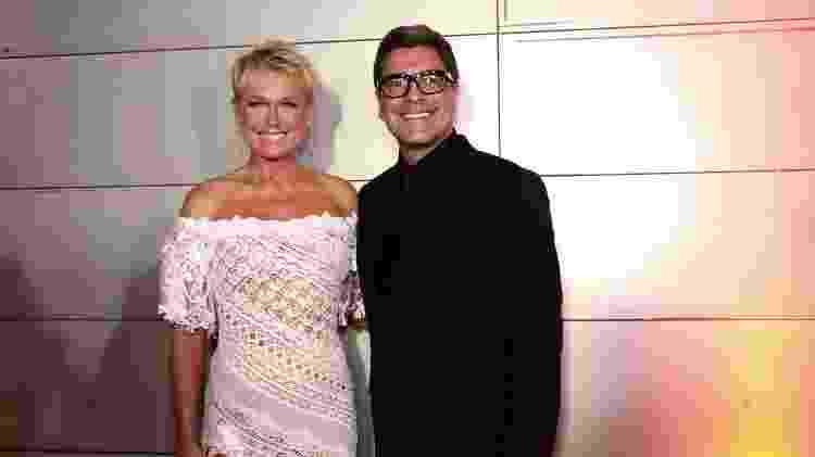 Xuxa vai com o namorado Junno no evento do Instituto Ressoar, promovido pela Record - Marcos Ribas/Brazil News - Marcos Ribas/Brazil News