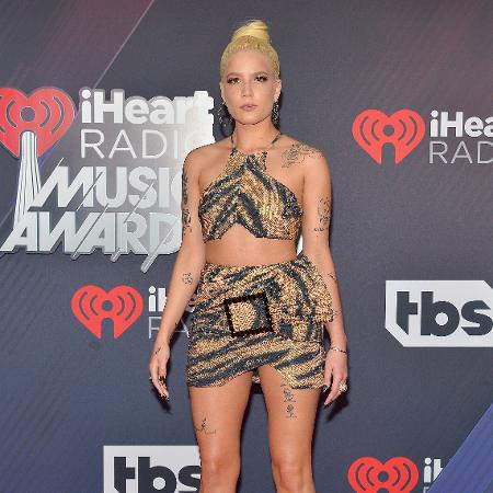 A cantora Halsey - Getty Images