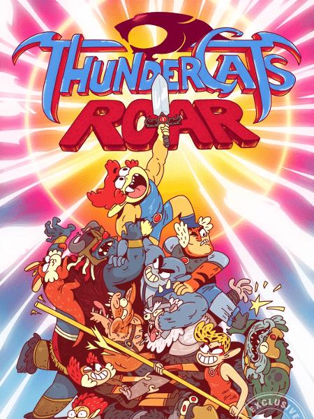 """Arte do novo """"ThunderCats"""" - Reprodução/Entertainment Weekly"""
