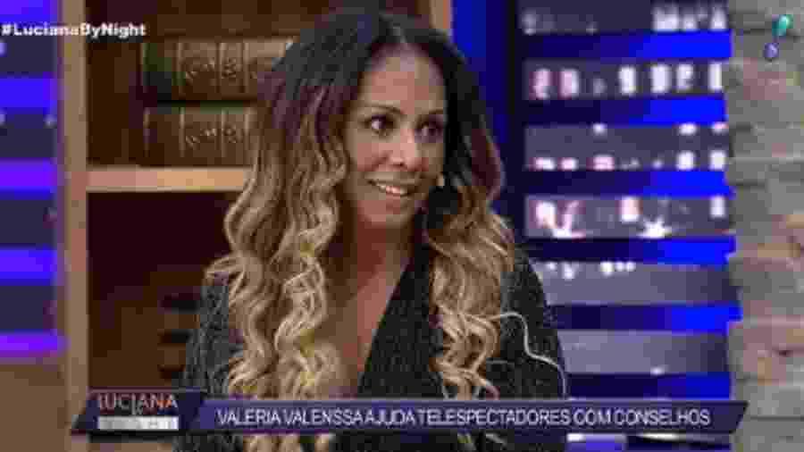 Valeria Valenssa no Superpop - Reprodução / Rede TV