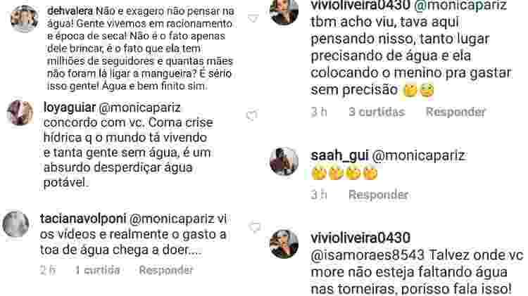 Seguidores criticam Karina Bacchi - Reprodução/Instagram - Reprodução/Instagram